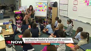 Local teacher headed to American Idol auditions - Video