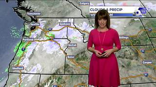 Snow and rain may put a damper on Valentine's Day plans - Video