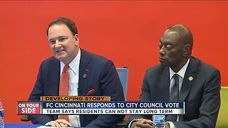 FC Cincinnati responds to city council vote