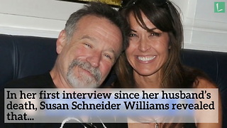 Robin Williams' Wife Just Revealed His Final 3 Words to Her Just Before He Died - Video