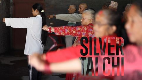 A girl's surprising martial arts gift to the elderly