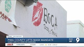 Mask mandates now left up to businesses in Pima County