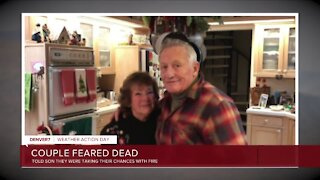 Family members say they believe couple died in Grand Lake home when East Troublesome Fire roared through