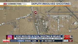 Officer-involved shooting in Mojave, one dead