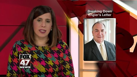 A look at Engler's 11-page resignation letter