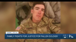 Family fights for justice for fallen soldier