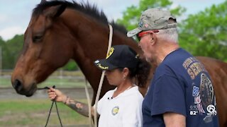 Veterans getting out of isolation with the help of horses