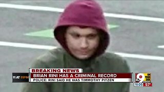 So who is Brian Rini, who claimed he was Timmothy Pitzen?