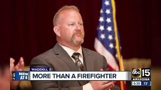 Friends, family remember Daisy Mountain Fire Captain David Barter - Video
