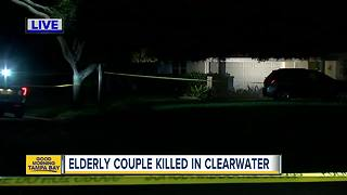Elderly Clearwater couple killed in their home