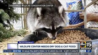 Southwest Wildlife Conservation Center in desperate need of food donations