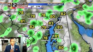Another Chance of Rain for Maryland - Video