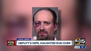 Deputy's wife killed when ran over in Cave Creek while with her daughter