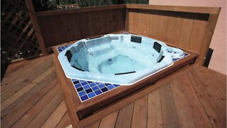 Thieves Steal 7 Hot Tubs