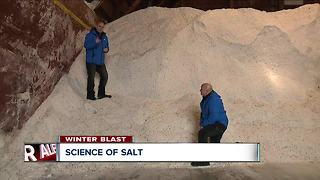 The science behind salting the roads - Video