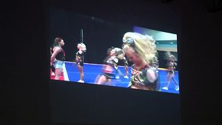 Video tribute at Elite Cheer Stars celebration - Video