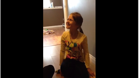 Sisters get surprised with brand new surprise puppy