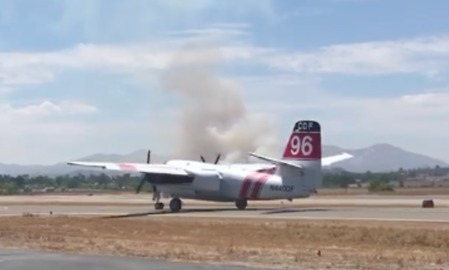 Planes Sent to California's Hope Fire for Air Drops