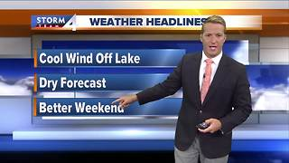 Cooler weather returns - Video