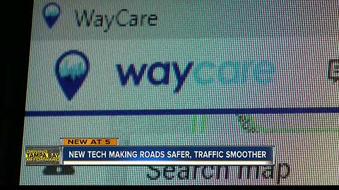 New tech making roads safer, traffic smoother