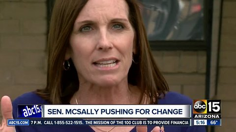 Senator McSally pushing for change to combat sexual assault in the military