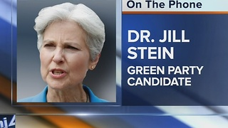 Jill Stein pays Wisconsin's Elections Commission, officially triggers recount - Video