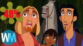 Top 10 Good Animated Movies With Bad Rotten Tomatoes Scores