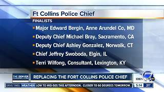 Meet and greet with Fort Collins police chief candidates - Video