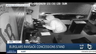 Imperial Beach Little League's concession stand burglarized