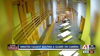 4 inmates charged in assault of jail guard - Video