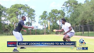 Te'Von Coney excited for NFL Draft