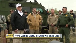Two weeks to reach deal to avoid another government shutdown