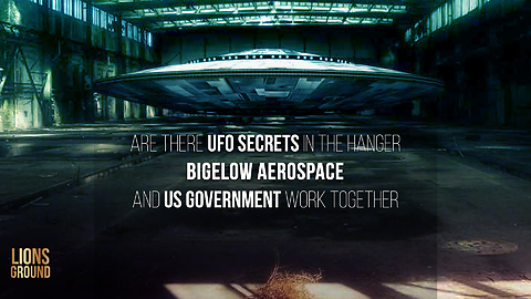 Top Secet UFOs Stored In Las Vegas Hangar