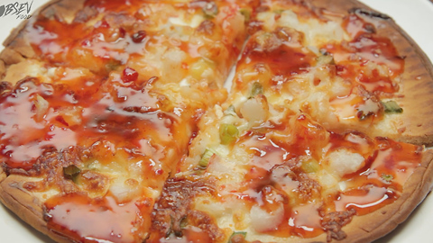 Crab Rangoon Pizza - Full Recipe