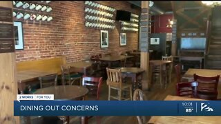 Local restaurants increase safety amid pandemic