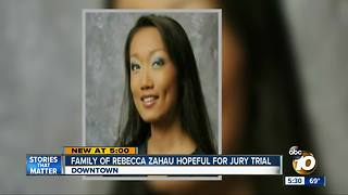 Family of Rebecca Zahau hopeful for jury trial - Video