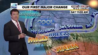 First Alert Weather for Nov. 1 - Video