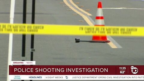 Officer-involved shooting in Escondido under investigation