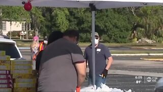 Feeding Tampa Bay prepares for Hurricane seson