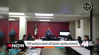 KCPD partnering with Hispanic community - Video