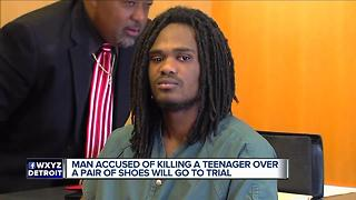 Man accused of killing teenager over pair of Jordans will go to trial - Video