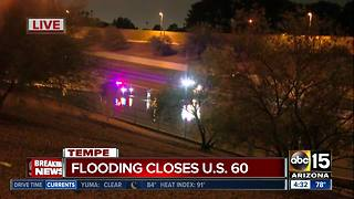 Monsoon brings heavy flooding to east Valley - Video