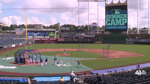 Royals grapple with safety policies on day 1 of summer camp