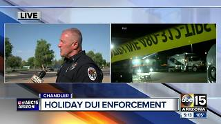 Chandler police ramp up 4th of July DUI enforcement - Video