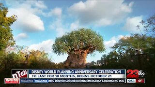 Disney World planning anniversary celebration