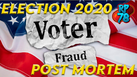 Rampant Voter Fraud, They Are Trying To Steal The Election