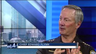 MPD Chief Flynn defends immigration policy - Video