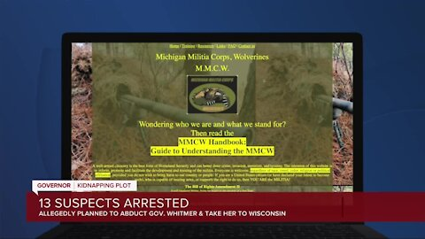 13 charged by state, feds in plot to kidnap Gov. Gretchen Whitmer