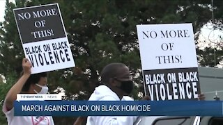 Anti-violence groups march against black on black violence