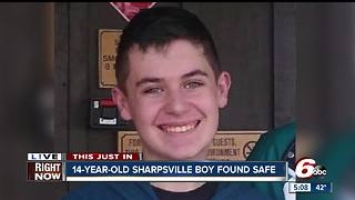 Missing 14-year-old from Tipton found safe - Video